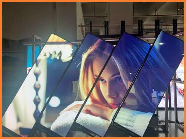 Desay Series A · fine pixel · LED poster