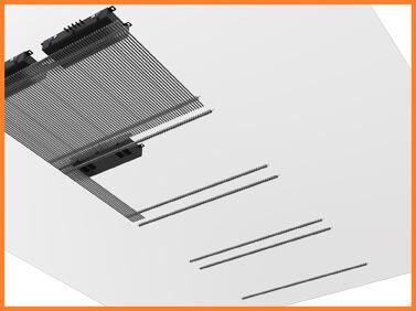 Desay Series B · large format · broad-pixel curtain