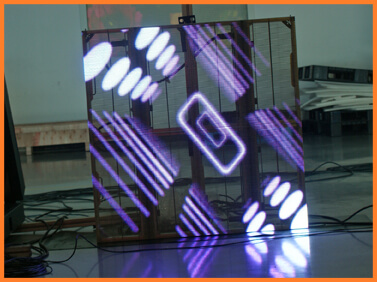 Desay Series G · fine pixel · transparent display