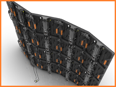 Desay Series HL · fine-pixel LED carbon performance panel