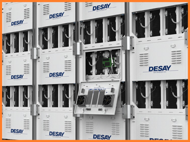 Desay Series S · custom installation outdoor cabinets