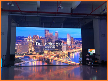 Desay Series T · 4K · 3840 * 2160 · ultra fine pixel · LED panel