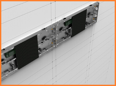 Desay Series WB · direct wall installation · fine-pixel