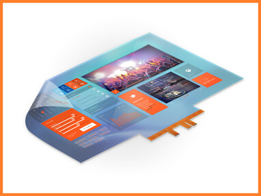 Displax Skin Fit · through-glass touch skin · 40 touch