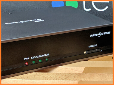 NovaStar Series Taurus · LED media player